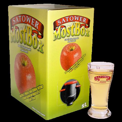 5 Liter Saftbox - 100% Klarer Apfelsaft - jetzt online bestellen