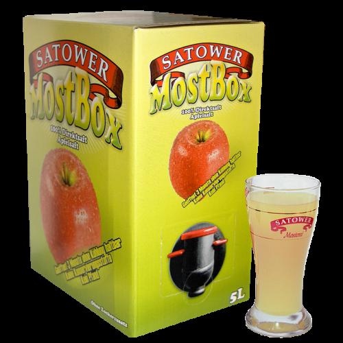 5 Liter Saftbox –100% Naturtrüber Apfelsaft - jetzt online bestellen