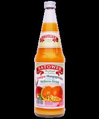 Orangen-Mangogetränk mit Sojaprotein - Wellness-Drink