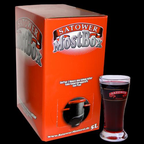 5 Liter Mostbox – Apfel-Kirsch Fruchtsaftgetränk