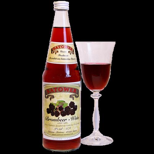 Brombeer-Wein