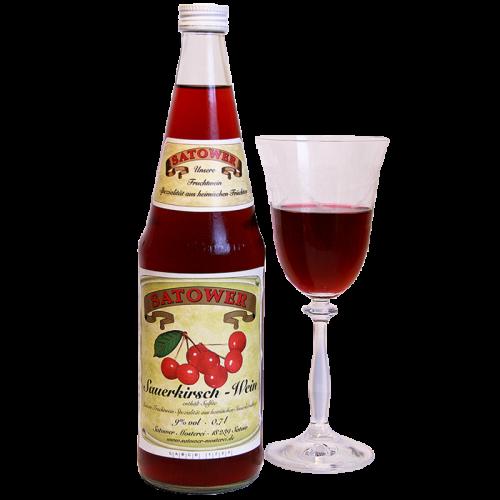 Sauerkirsch–Wein