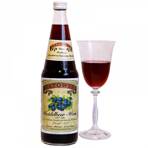 Heidelbeer-Wein