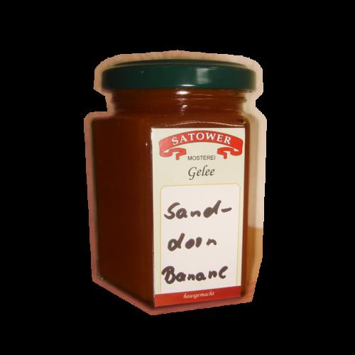 Sanddorn-Banane Fruchtaufstrich - Online kaufen bei Säfte.com