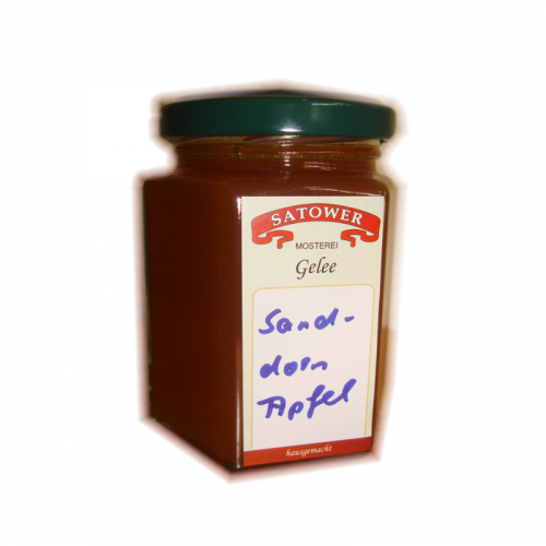Sanddorn-Apfel Fruchtaufstrich - Online kaufen bei Säfte.com