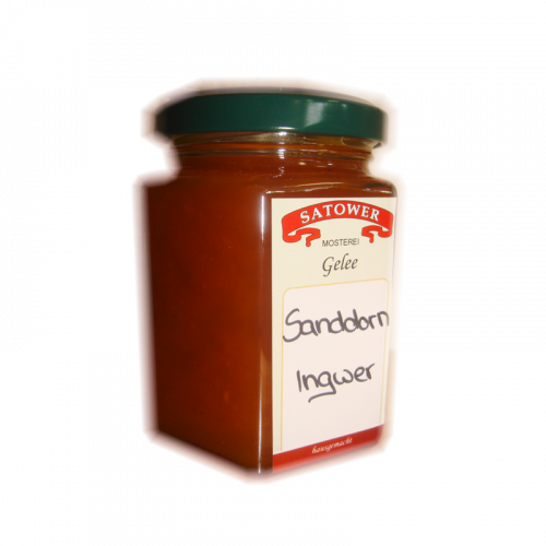 Sanddorn-Ingwer Fruchtaufstrich - Online kaufen bei Säfte.com