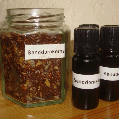 Sanddornkernöl - Kaltgepresst 50ml