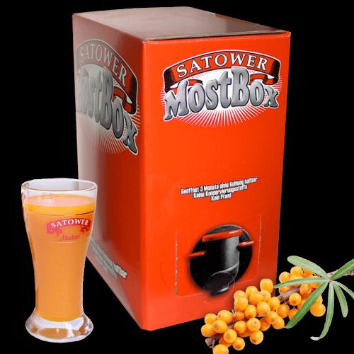 5 Liter Saftbox - 100% Sanddornsaft (Direktsaft)