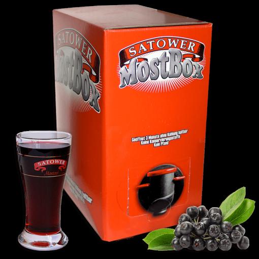 5 Liter Saftbox - 100% Aroniasaft / Apfelbeerensaft (Direktsaft)